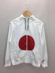 WINDRUNNER JAPAN SPLIT/S/ポリエステル/ホワイト/汚れ有