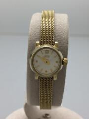 エテ/クォーツ腕時計/アナログ/ステンレス/シルバー/ゴールド/メッシュベルト/ダイヤ