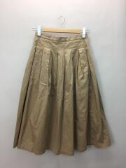 ロングスカート/O/コットン/BEG/無地/GK001-151023