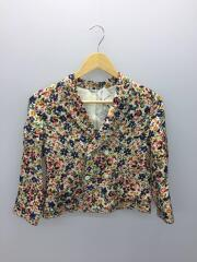 Flower piping W Jacket/130/シルク/マルチカラー/総柄/1220101404