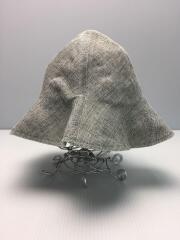 ストローハット/1/GRY/指定外繊維/紙