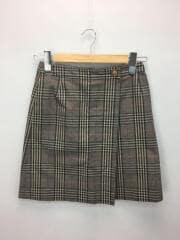 スカート/36/コットン/KHK/チェック/H5S05-224-55/マッキントッシュフィロソフィー