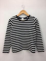 長袖Tシャツ/M/コットン/BLK/19-070-900-0310-3-0