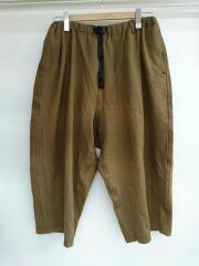 PONTE BALLOON PANTS/ワイドパンツ/FREE/レーヨン/BRW/GLP-18F028