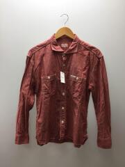 リネンシャツ/40/コットン/RED