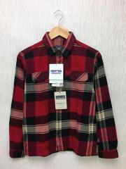 L/S Fjord Flannel Shirt//長袖シャツ/XS/コットン/レッド/54130fa15