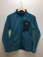 クリマプラス100ジャケット/フリースジャケット/L/ポリエステル/ブルー/1106592