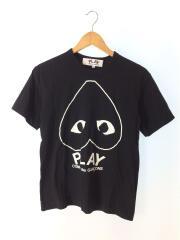 PLAY COMME des GARCONS プレイコムデギャルソン/Tシャツ/M/コットン/BLK/AZ-T11