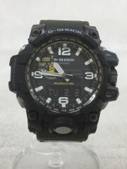CASIO/ソーラー腕時計・G-SHOCK/デジアナ/BLK/GWG-1000/セカスト