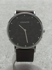 COACH コーチ/クォーツ腕時計/アナログ/セカスト/中古