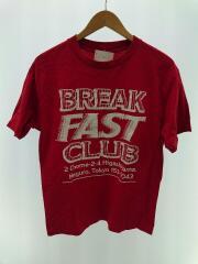 BREAKFAST CLUB/ブレックファストクラブ/Tシャツ/M/コットン/レッド/赤