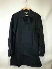 ブロードパッチワークシャツ/19SS/長袖シャツ/2/コットン/ブラック/HH-B38-055
