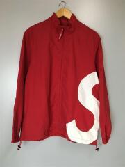19SS/S Logo Track Jacket/ブルゾン/M/ナイロン/RED/無地
