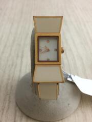 クォーツ腕時計/アナログ/ステンレス/GLD/CRM/Carlyle Bangle
