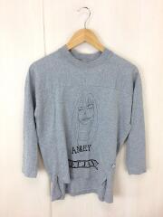 アメリカーナ/7分袖カットソー/コットン/GRY/グレー/SWEET JANE/灰