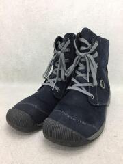 ブーツ/25cm/NVY/1013764/ キーン/レイゼンジップ/防水仕様/スウェード/中古