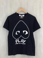 Tシャツ/M/コットン/BLK/プリント/AD2017