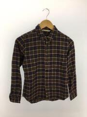 ネルシャツ/0/コットン/BRW/チェック