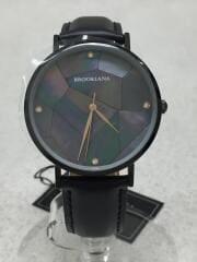 クォーツ腕時計/アナログ/--/SLV/BLK/BA3101