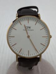 ダニエルウェリントン/クォーツ腕時計/アナログ/0511DW/ClassicBristol/ホワイト