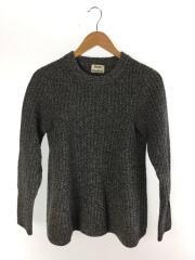セーター(厚手)/S/ウール/GRY/無地/DIXIE L-WOOL PAW14