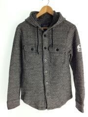 ジャケット/M/ウール/グレー/114-45-0022/フード付き