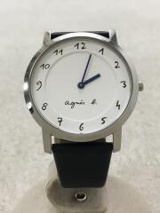 クォーツ腕時計/アナログ/--/WHT/NVY/VJ20-KDE0/箱、取説付