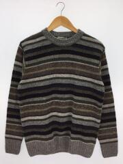セーター(厚手)/38/ウール/GRY