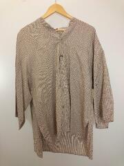 タグ付/kimono sleeve shirts/TC-SH-05-B/シャツ/2/コットン/CML/チェック