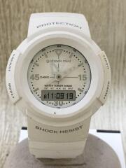 クォーツ腕時計/デジアナ/SLV/GMN-50