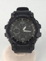 ソーラー腕時計・G-SHOCK/GWG-100-1AJF/デジタル/BLK//電波  MUDMASTER マッドマスター