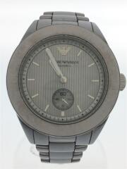 Sport Silver Grey Watch/クォーツ腕時計/アナログ/AR1463