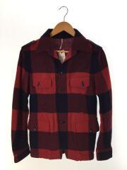 ネルシャツ/--/ウール/RED/チェック