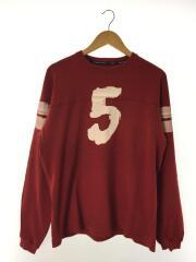 TRIPLE FIVE SOUL NYC/長袖Tシャツ/M/コットン/RED