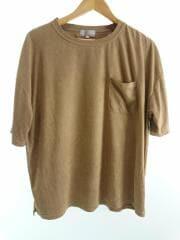 Tシャツ/48/ポリエステル/BEG/無地