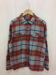 Fjord Flannel Shirt/17AW/54130FA17/長袖シャツ/L/コットン/ORN/チェック
