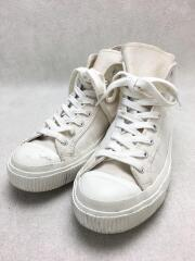 ARMY TRAINERS SOLID- HIGH TOP/ハイカットスニーカー/UK9.5/IVO/キャンバス