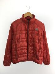 Light Heat Jacket/ライトヒートジャケット/ND18174/ダウンジャケット/S/ナイロン/RED