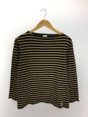 長袖Tシャツ/4/コットン/BRW/ボーダー/セカスト/中古
