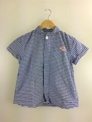 半袖シャツ/18S-WS-006/XL/コットン/BLU/ギンガムCK