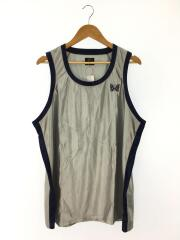 タンクトップ/M/ポリエステル/SLV/20ss/SIDE LINE TANK TOP POLY TRICOT