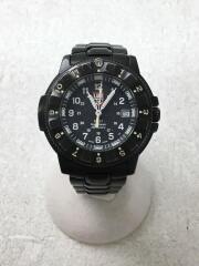 クォーツ腕時計/F-117/SERIES3400/NIGHTHAWK/アナログ/ステンレス/BLK/BLK
