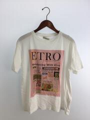 ETRO/エトロ/Tシャツ/40/コットン/ホワイト/プリント