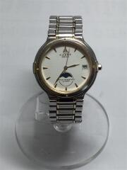 Seiko/セイコー/クォーツ腕時計/アナログ/ステンレス/IVO/SLV