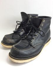 レッドウィング/ブーツ/ブラック/黒/犬タグ/ソール減り有り/擦れ有り