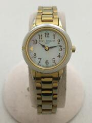 腕時計/--/ステンレス/シルバー/ゴールド/ソーラーコマ有
