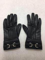 手袋/レザー/ブラック/黒