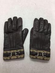 手袋/レザー/ブラウン/茶色