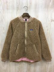 フリースジャケット/XXL/ポリエステル/キャメル/タグ付き/65415FA19
