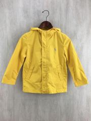 ジャケット/ホースマーク付き/130cm/ポリエステル/イエロー/黄色